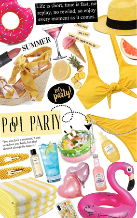 party in yellow