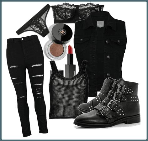 Punk Black