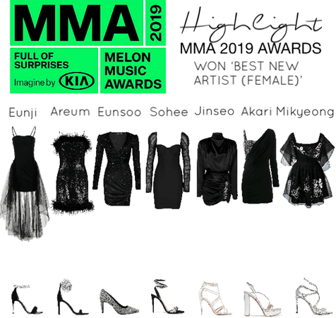 Highlight MMA 2019 red carpet outfits