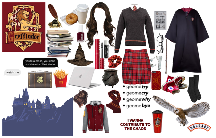 Harry Potter: Gryffindor Girl