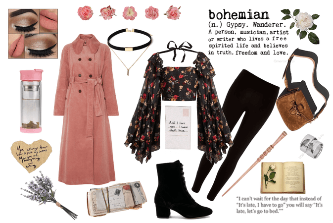 Bohemian Cold Weather Look