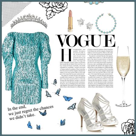 Turquoise Glam