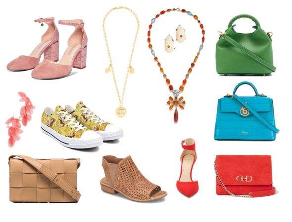 Accesories for Warm Spring Color Type