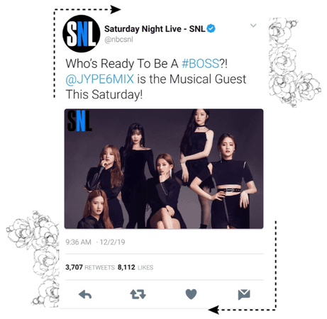 《6mix》SNL Tweet