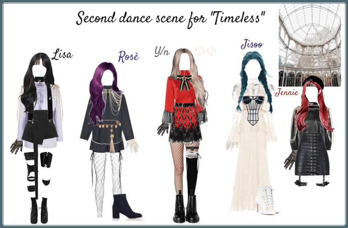 "Blackpink second dance scene for ""Timeless"""