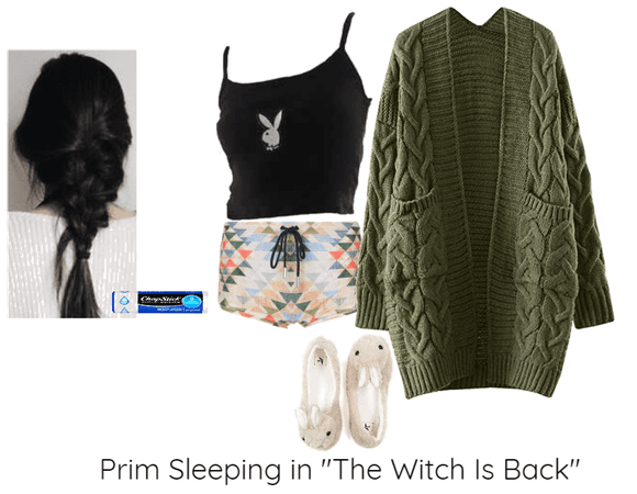 """Prim Sleeping in """"The Witch Is Back"""""""
