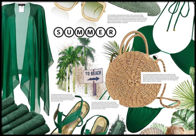 Summer in green