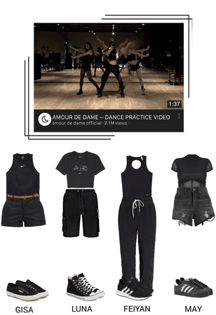 [PRE DEBUT] AMOUR DE DAME - DANCE PRACTICE VIDEO