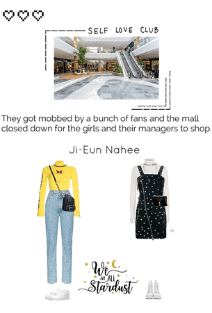 NAHEE AND JI-EUN AT THE MALL