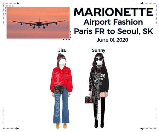 MARIONETTE (마리오네트) [JISU & SUNNY] Airport Fashion