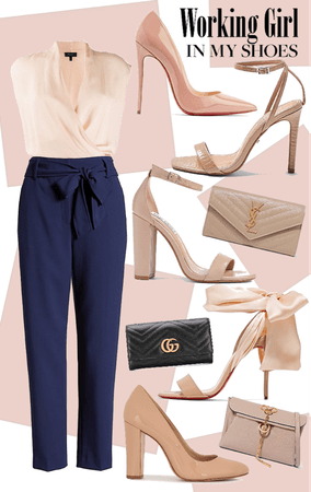 Nude Classy Outfit
