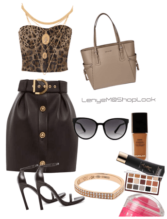 Leopard/Leather