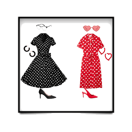polka dot in the 50´s