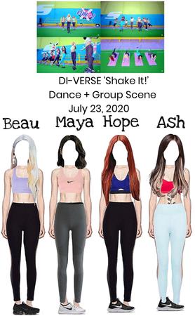 DI-VERSE 'Shake It!' MV Dance & Group Scene