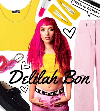 FALL 2020: Delilah Bon (Lauren Tate) Style