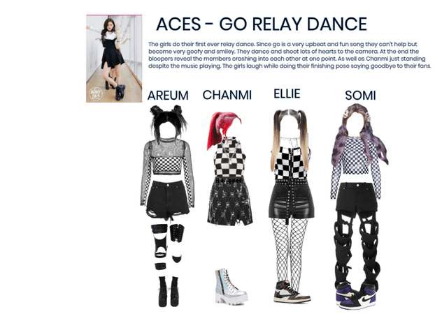 [ACES] Relay Dance - Go