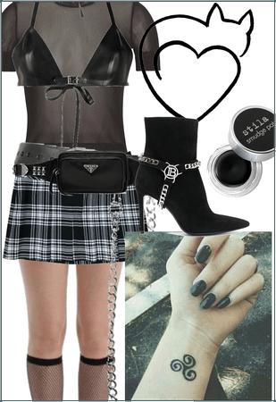Naughty school girl chic💋