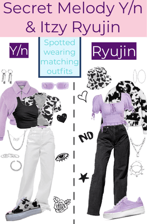 Y/N AND RYUJIN MATCHING OUTFITS