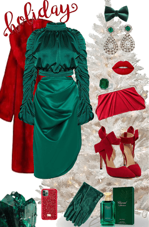 Holiday trend: Green and Red