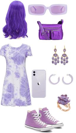 A nice purple look!!