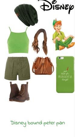 Disney bound Peter Pan x