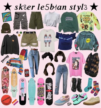 skater lesbian