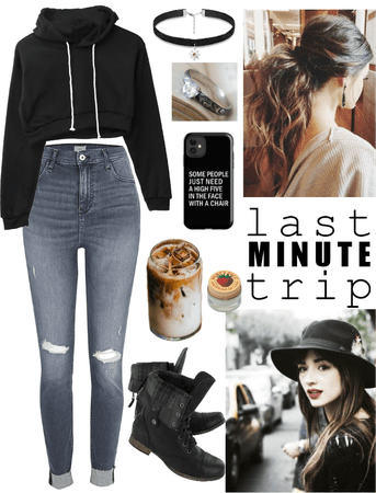 Crystal Lockwood inspired last minute trip outfit