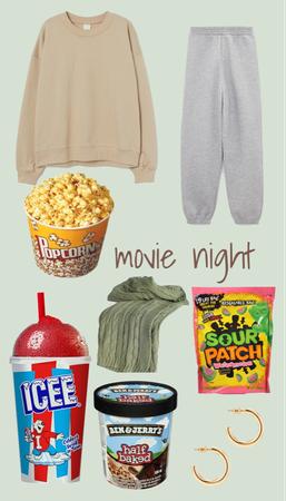 movie nighttttt