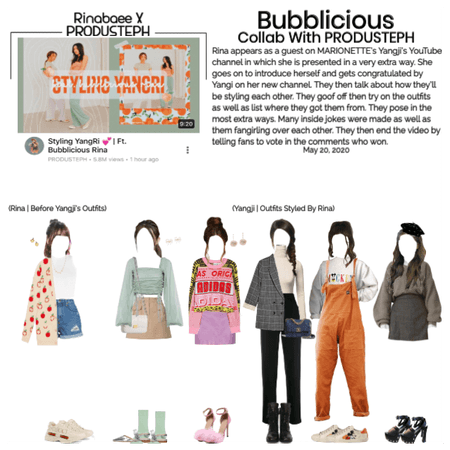 Bubblicious (신기한) [RINA] Guest On PRODUSTEPH