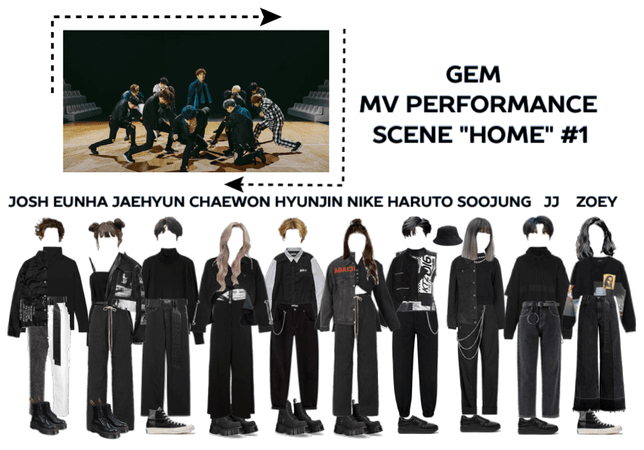 """GEM II """"HOME"""" PERFORMANCE OUTFITS #1"""