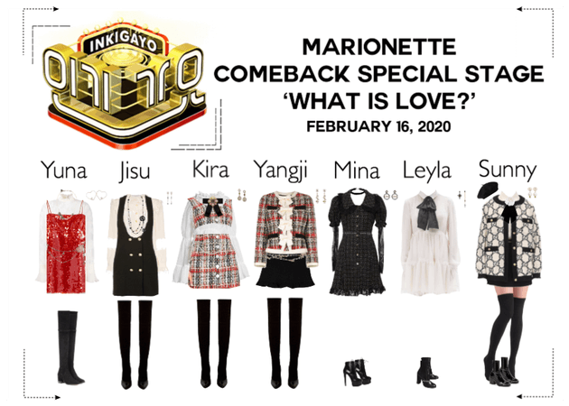 MARIONETTE (마리오네트) [Inkigayo] Comeback Stage
