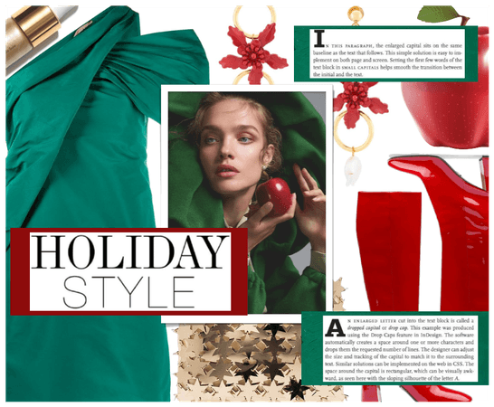 Holiday Trend: Green & Red ( 12.20.2020 )