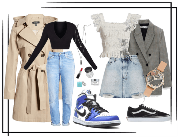 Chic fashion for two