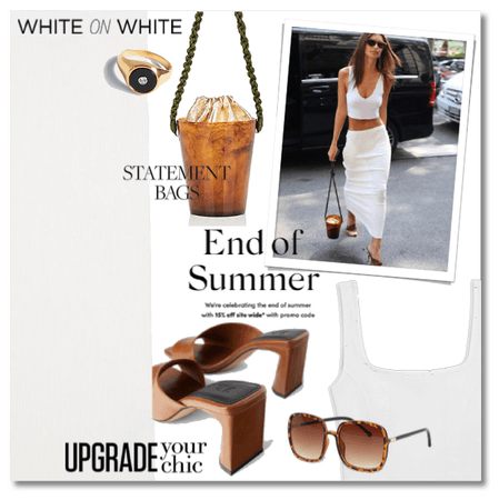 End of Summer: White on White
