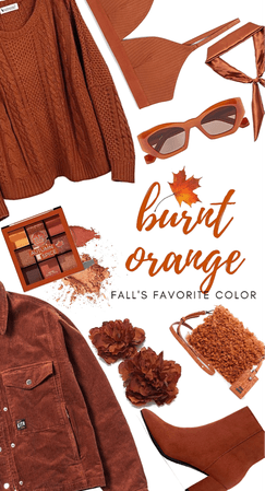 Burnt Orange: Fall's Favorite Color