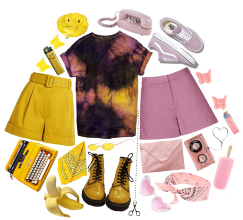 yellow or pink