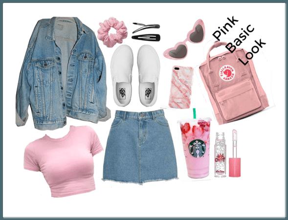Pink Basic Look