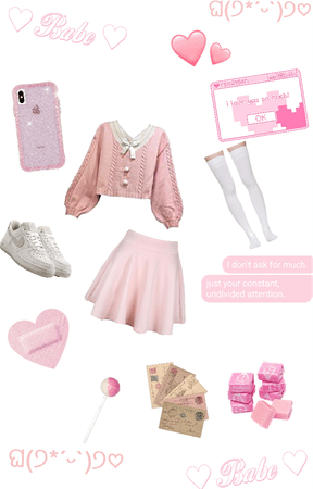 idk pink