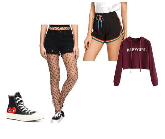 Rollerskating outfit
