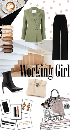 Working Gril