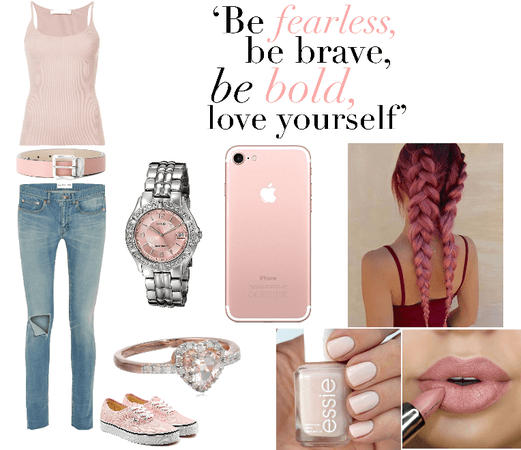 Fearless And Bold In Pink