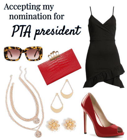 accepting my nomination for PTA president