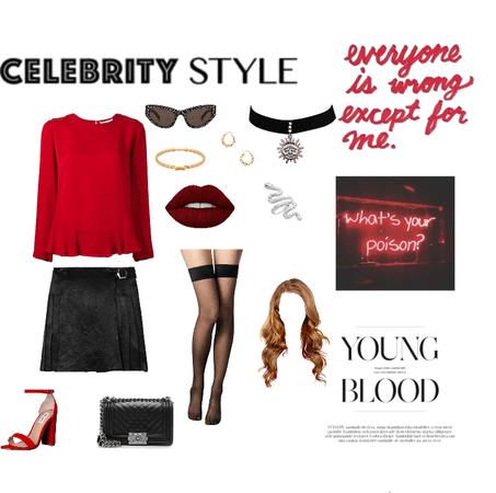 Cheryl blossom outfit idea