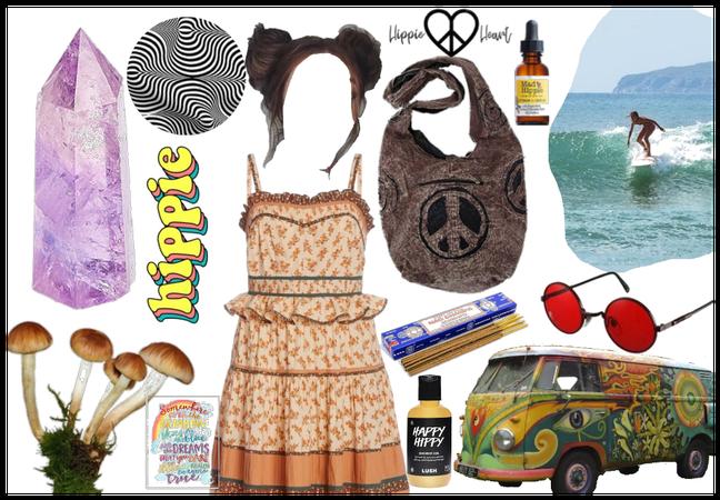 trippy hippie summer