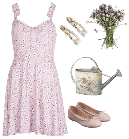 wishing I could twirl around in a flower field