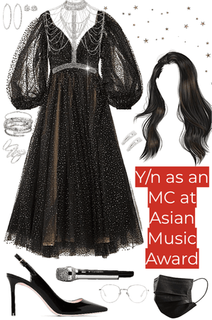 Y/n as a MC (from fake kpop group)