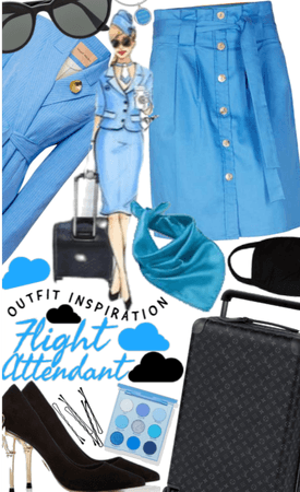 Flight attendant inspired
