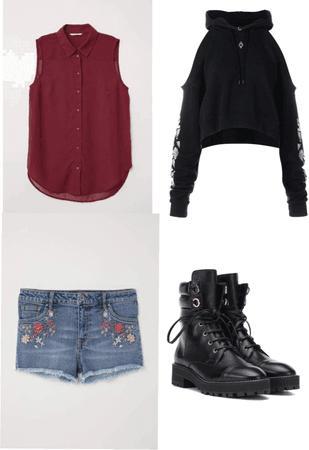 Ebony clothes