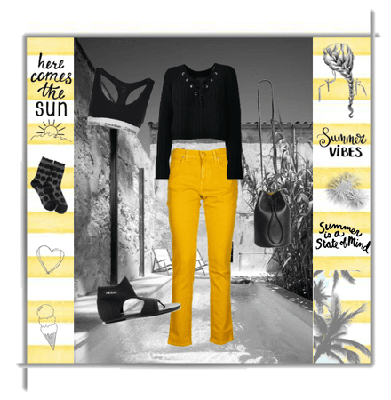 italist black& yellow