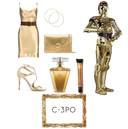 C-3PO Star Wars day